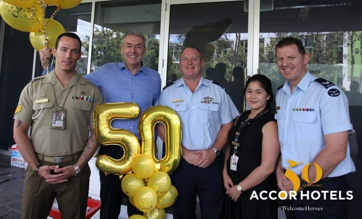 To celebrate its 50th anniversary, AccorHotels opens the doors of its hotels to everyday heroes