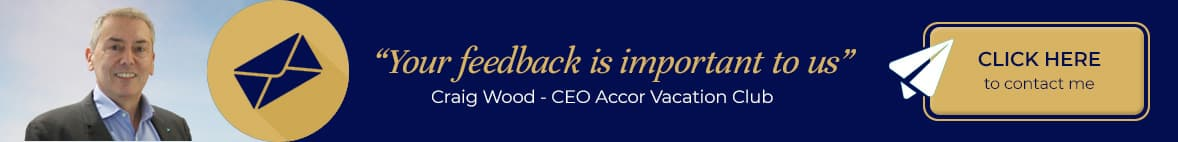 We value your feedback at Accor Vacation Club